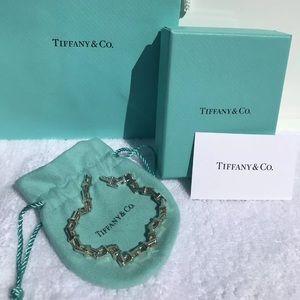 Tiffany & Co. Narrow T link Bracelet NEW IN BOX